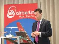 Air Berlín aumenta en seis los vuelos directos entre Málaga y destinos europeos este verano