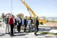 Comienzan las obras de las aceras de Sierrapando, que finalizarán en seis meses