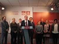 El PSPV en el Ayuntamiento presenta su personación para defender