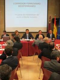 Las obras del Corredor Mediterráneo entre Valencia y Cartagena serán licitadas en el segundo semestre de 2012