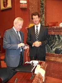 Ruiz (PP) asegura que el trasvase Tajo-Segura