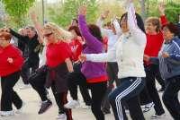 Salvaleón (Badajoz) acoge una actividad deportiva para que 70 mujeres practiquen actividad física de forma