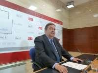TC admite a trámite los 21 recursos presentados por diputados del PSOE de C-LM contra la supresión de sueldos en Cortes