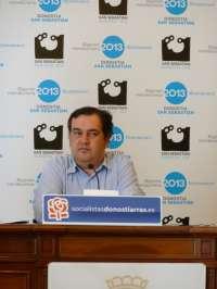 PSE de San Sebastián denuncia la