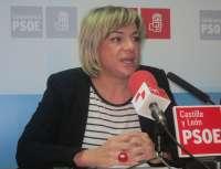 La senadora socialista Elena Diego lamenta que los 'escraches' crucen