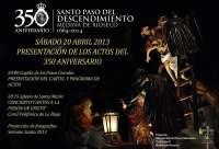 La Hermandad 'La Escalera' de Rioseco (Valladolid) celebra hoy el primer acto conmemorativo de su 350 aniversario