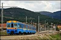 El tren turístico 'Río Eresma', una máquina de época que une Segovia y Madrid, inaugura nueva temporada