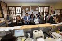 Alumnos del Centro de Educación Especial de Parayas descubren el funcionamiento del Ayuntamiento