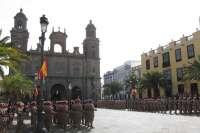 La ASPFOR XXXIII celebra su ceremonia de despedida en Gran Canaria antes de iniciar su misión en Afganistán
