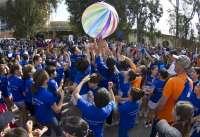 Más de 3.000 kilos de comida recogidos para Banco de Alimentos y Cruz Roja en una carrera solidaria de 850 niños