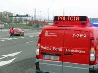 Las policías de Navarra comprobarán que las obras que se realizan en las carreteras están correctamente señalizadas