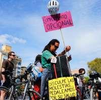 Una multitudinaria 'bicifestación' protesta contra el borrador del nuevo Reglamento de Circulación