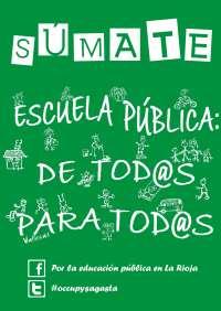 La Rioja se suma a la primera huelga en Educación convocada en todos los sectores