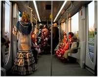 El metro contabiliza un 3,27 por ciento más de pasajeros en su dispositivo de Feria con 814.211 viajeros