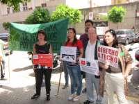 La PAH se concentra en Viapol, protestará ante BBVA y prepara mesas informativas para mayo