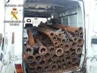Tres detenidos en Villafranca de los Caballeros (Toledo) por robos en explotaciones agrícolas
