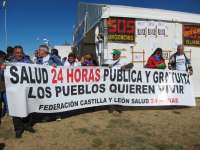Vecinos de Las Arribes (Salamanca) reclaman la reapertura de las urgencias nocturnas