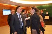 Cospedal invita a la China National Cereals, Oils and Foodstuffs Corporation a establecer contactos con empresas de C-LM