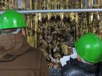 Más de 450 personas visitan en abril el Retablo de la Catedral durante su restauración