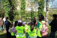 El Aula de Medio Ambiente acerca a los escolares al río Besaya
