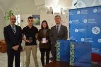 Un estudiante de la Escuela de Navales y otra de Arquide, premiados por campaña publicitaria ahorro energético en UPCT