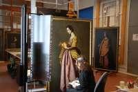 El Bellas Artes restaura ocho santas de Zurbarán para la muestra, cuyas entradas se venden desde este jueves