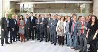 Fernández Mañueco se reúne con el Grupo Territorial de Senadores del PP de CyL