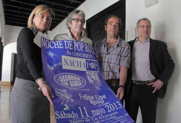 La 'Chica de ayer' volverá a la Axerquía con la renacida formación de Nacha Pop que lidera Nacho García Vega