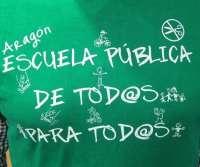 Más de ochenta centros de Aragón se adhieren este jueves a los encierros contra los recortes educativos
