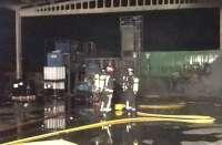 Extinguido un incendio en una planta de residuos de Tarancón (Cuenca)