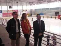 La pista de hielo de Lobete acoge desde hoy los entrenamientos de la Copa de las Naciones de Ballet sobre Hielo