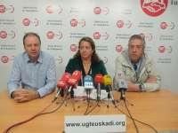 Collantes se presenta a la Secretaría General de UGT Euskadi y dice contar con el apoyo del 60% de la afiliación