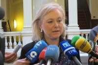 Mercedes Fernández (PP) critica a Javier Fernández (PSOE) por no dar respuesta a los problemas de Asturias