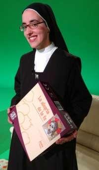 Una monja de una comunidad de Cuenca crea un juego de mesa sobre conocimientos de Cristo por mímica, tabú y preguntas
