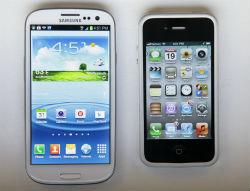 Galaxy vs. iPhone.