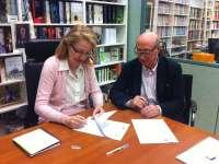 Fundación Santa María la Real y editorial Espasa alcanzan un acuerdo para digitalizar el fondo fotográfico de Zubillaga