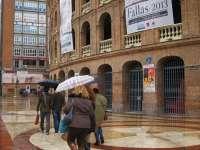 La ciudad recoge 29,30 litros por metro cuadrado de aguas pluviales