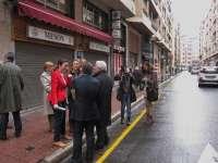 Las obras para peatonalizar la calle Saturnino Ulargui comenzarán este lunes y finalizarán antes de San Mateo