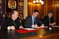 Diputación y Obispado de Cuenca aportarán 100.000 euros para la restauración del patrimonio mueble de la Iglesia