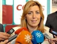 Díaz ve importante que el PSOE profundice en el procedimiento de primarias, pero asegura que la prioridad es la crisis