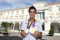 El estudiante de la UPCT, Joel González, campeón olímpico en Londres 2012, recibe el Premio Nacional del Deporte
