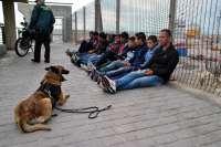Las fuerzas de seguridad interceptan a 27 supuestos polizones en Melilla en una operación especial
