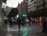 La Comunitat Valenciana inicia el fin de semana con cielos cubiertos, lluvia y descenso de las temperaturas
