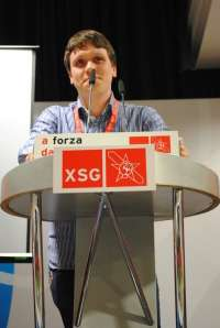 Aitor Bouza, elegido nuevo secretario xeral de las Xuventudes Socialistas de Galicia tras la retirada del otro candidato
