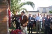 Barbaño (Badajoz) inaugura el Parque de la Solidaridad en homenaje a intervinientes en la evacuación por inundaciones