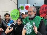 Una familia de Ansoáin pide la paralización de la subasta de su vivienda