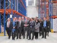 (AV) El almacén central del Sergas, que albergará 45.000 productos, acreditará que