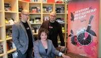 Juan Madrid y Andreu Martín participarán en la primera edición del festival del género negro 'Valencia Negra'