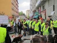 Unos 350 afectados de Montes se concentran ante el Gobierno para pedir que se respete