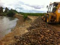 La reparación de los daños de las inundaciones pone en marcha